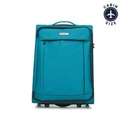 Kabinový cestovní kufr, tyrkysová, 56-3S-461-95, Obrázek 1