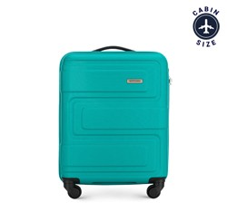 Kabinový kufr, tyrkysová, 56-3A-631-85, Obrázek 1