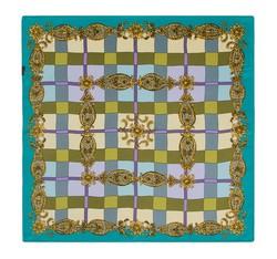 Dámský šátek, tyrkysovo-zelená, 86-7D-S11-X10, Obrázek 1