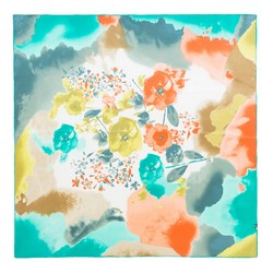 Dámský šátek, tyrkysovo-zelená, 87-7D-S21-X8, Obrázek 1