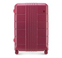 Большой чемодан, умеренно красный, 56-3P-823-35, Фотография 1