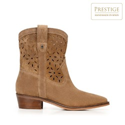 Dámské boty, velbloud, 92-D-155-5-40, Obrázek 1