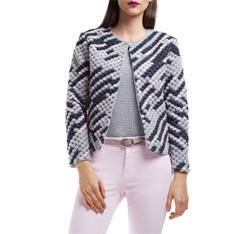 Dámské sako, vícebarevný, 84-9W-108-P-L, Obrázek 1