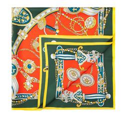 Dámský šátek, vícebarevný, 84-7D-S22-X01, Obrázek 1