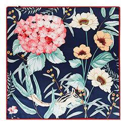 Dámský šátek, vícebarevný, 90-7D-S33-X1, Obrázek 1