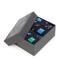 Sada pánských ponožek, vícebarevný, 93-SK-002-X1-40/42, Obrázek 1