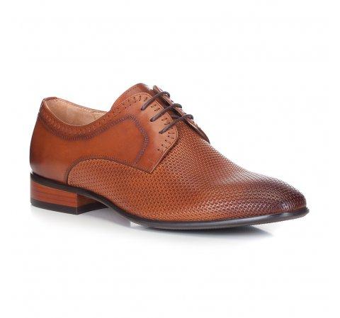 Férfi cipő, világos barna, 88-M-501-5-44, Fénykép 1