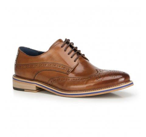 Férfi cipő, világos barna, 90-M-512-7-39, Fénykép 1