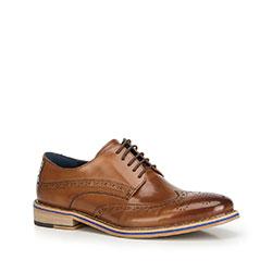 Férfi cipő, világos barna, 90-M-512-5-44, Fénykép 1