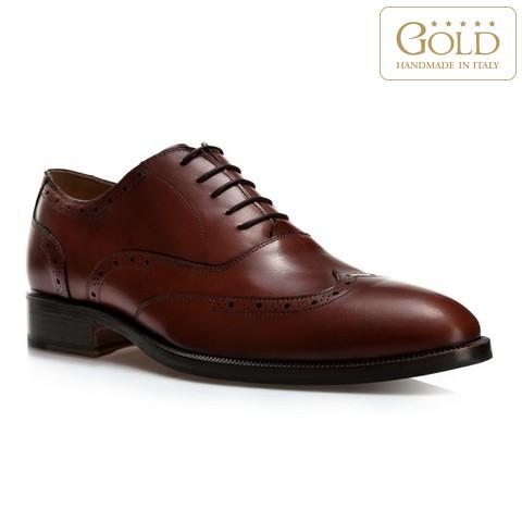 Férfi cipő, világos barna, BM-B-581-5-43, Fénykép 1