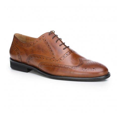 Férfi cipő, világos barna, 87-M-702-7-44, Fénykép 1