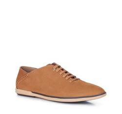 Férfi cipő, világos barna, 88-M-911-5-43, Fénykép 1