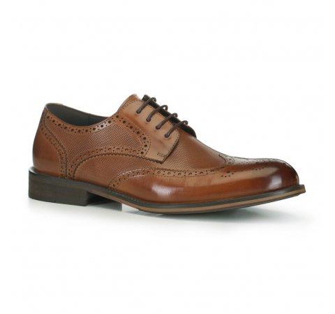 Férfi cipő, világos barna, 88-M-928-1-41, Fénykép 1