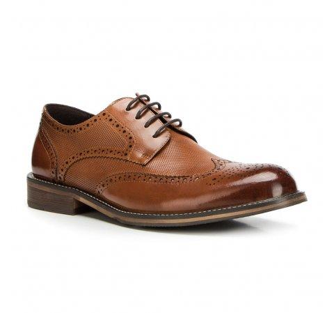 Férfi cipők, világos barna, 90-M-919-1-43, Fénykép 1