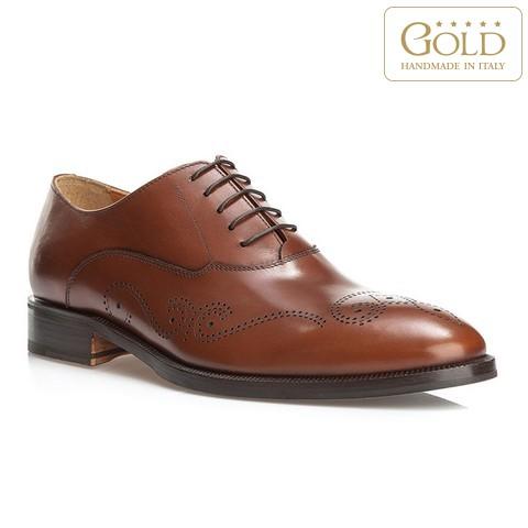 Férfi cipő, világos barna, BM-B-583-5-44, Fénykép 1