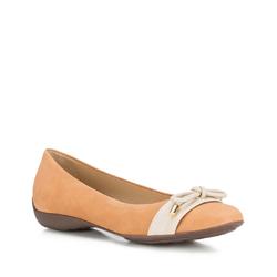 Női cipő, világos barna, 88-D-704-5-37, Fénykép 1