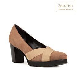Női cipő, világos barna, 83-D-116-8-36, Fénykép 1