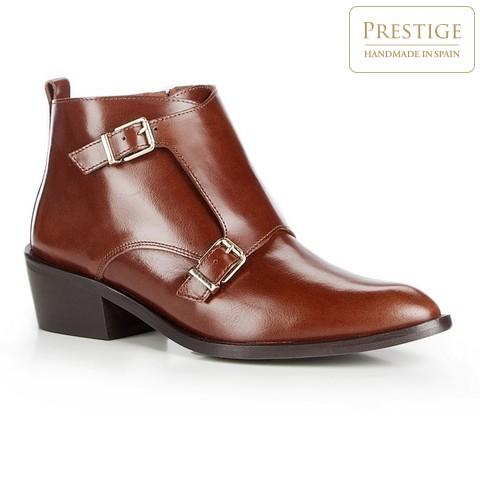 Női cipő, világos barna, 87-D-457-1-37, Fénykép 1