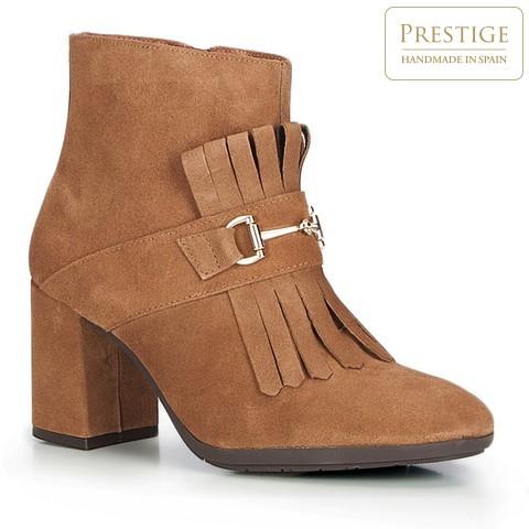 Női cipő, világos barna, 87-D-458-1-37, Fénykép 1