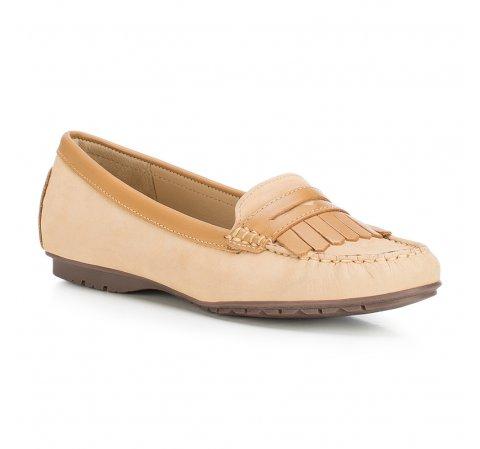 Női cipő, világos barna, 88-D-701-3-36, Fénykép 1