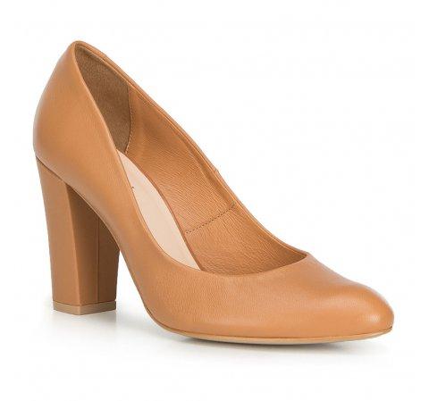 Női cipő, világos barna, 90-D-202-3-35, Fénykép 1