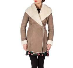 Női bunda, világos barna, 81-9S-506-5-M, Fénykép 1
