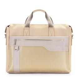 Női táska, világos bézs, 86-3P-100-9, Fénykép 1