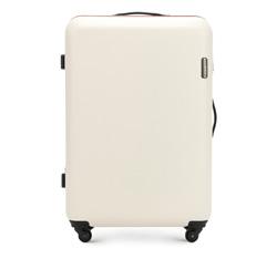 Nagy bőrönd, világos bézs, 56-3-613-85, Fénykép 1