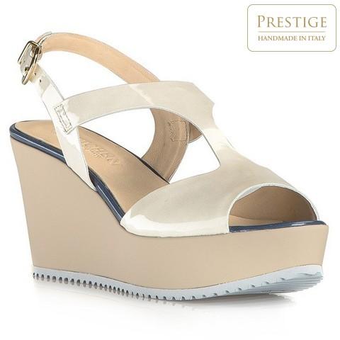 Női cipő, világos bézs, 80-D-103-0-40, Fénykép 1