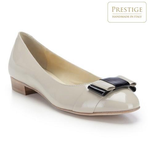 Női cipő, világos bézs, 82-D-102-7-35, Fénykép 1