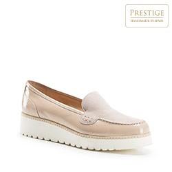 Női cipő, világos bézs, 86-D-103-9-38_5, Fénykép 1