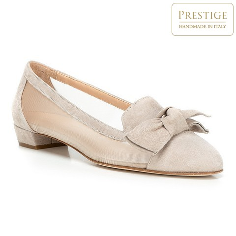 Női cipő, világos bézs, 88-D-100-9-35, Fénykép 1
