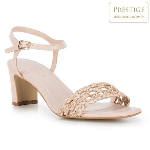 Női cipő, világos bézs, 88-D-151-9-40, Fénykép 1