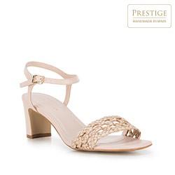 Női cipő, világos bézs, 88-D-151-9-37, Fénykép 1