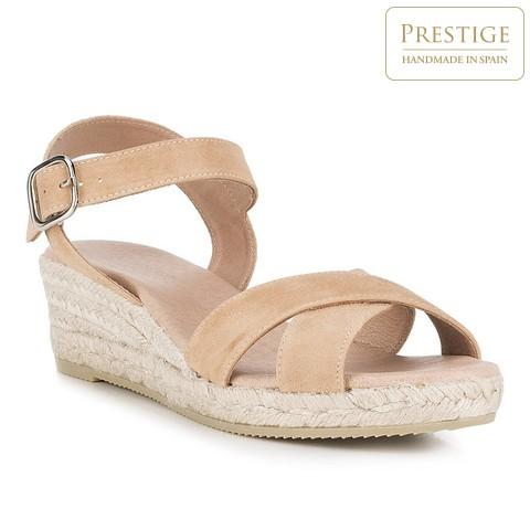 Női cipő, világos bézs, 88-D-504-1-39, Fénykép 1