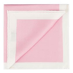 Díszzsebkendő, világos rózsaszín, 87-7P-001-P, Fénykép 1