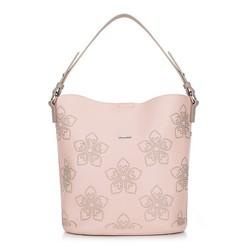 Női táska, világos rózsaszín, 88-4Y-555-P, Fénykép 1