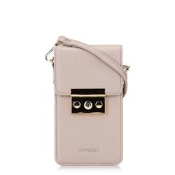 Női mini levéltáska, néma rózsaszín, 92-2Y-564-9, Fénykép 1