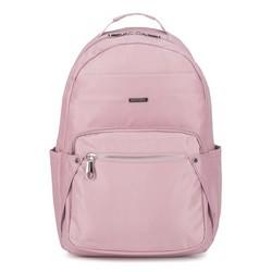 Női nejlon hátizsák, világos rózsaszín, 92-4Y-100-P, Fénykép 1