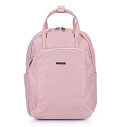 Női nejlon hátizsák, világos rózsaszín, 92-4Y-103-P, Fénykép 1