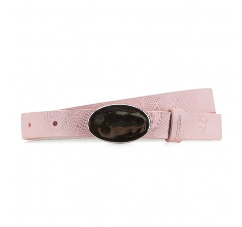 Női öv, világos rózsaszín, 90-8D-310-P-XL, Fénykép 1