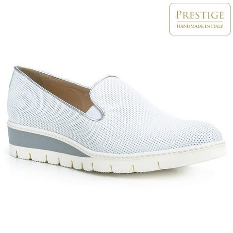 Női cipő, világos szürke, 84-D-101-S-40, Fénykép 1