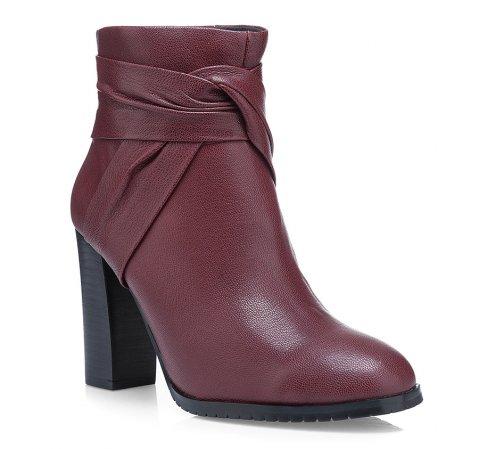 Dámská obuv, vínová, 85-D-905-2-35, Obrázek 1