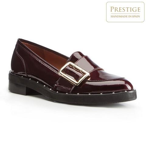 Dámské boty, vínová, 87-D-451-2-35, Obrázek 1