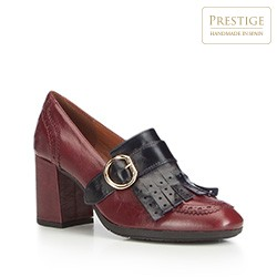 Dámské boty, vínová, 87-D-464-2-37, Obrázek 1