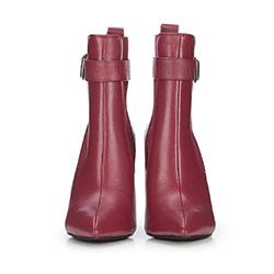 Dámské boty, vínová, 87-D-908-2-39, Obrázek 1