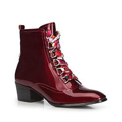 Dámské boty, vínová, 87-D-911-2-35, Obrázek 1