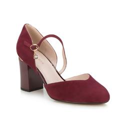 Dámské boty, vínová, 88-D-955-2-37, Obrázek 1
