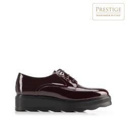 Dámské boty, vínová, 92-D-658-2-35, Obrázek 1