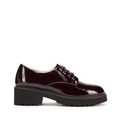 Dámské boty, vínová, 93-D-950-3-37, Obrázek 1